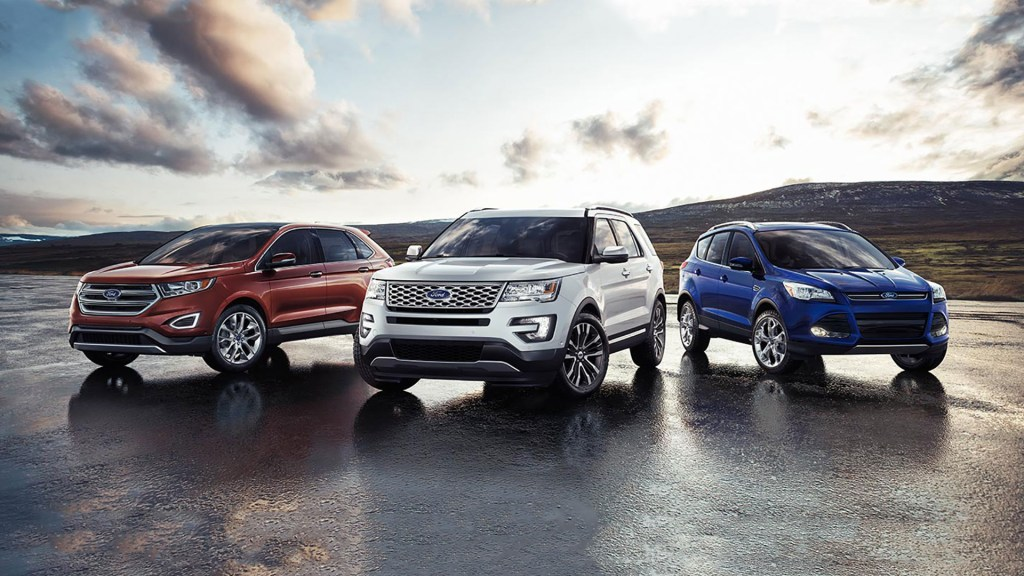 Three Ford SUVs, One Five-Star Safety Rating