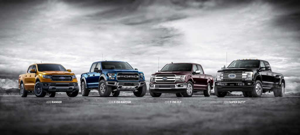 """Built Ford Tough<sup style=""""font-size:12px;"""">®</sup>: Discover Our Most Powerful, Rugged Trucks"""