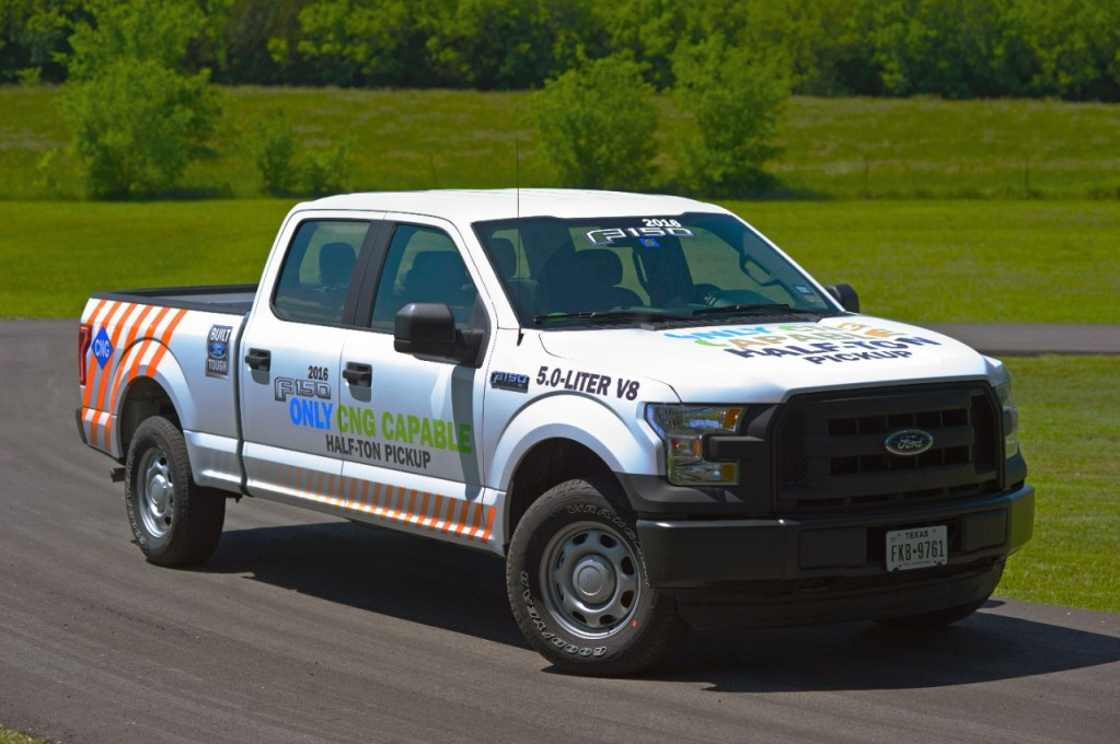 2016 F-150 WITH CLASS-EXCLUSIVE COMPRESSED NATURAL GAS, PROPANE CAPABILITY GROWS FORD'S ALTERNATIVE FUEL LEADERSHIP