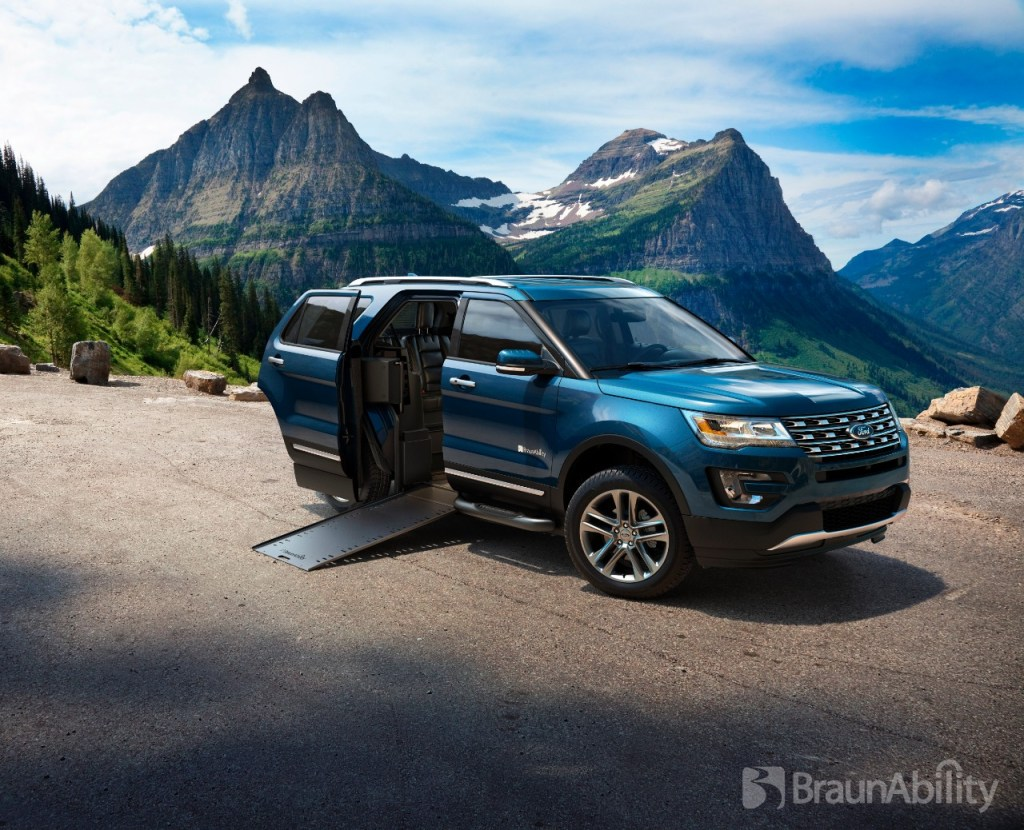 2016 Ford Explorer to Become First-Ever Wheelchair-Accessible SUV