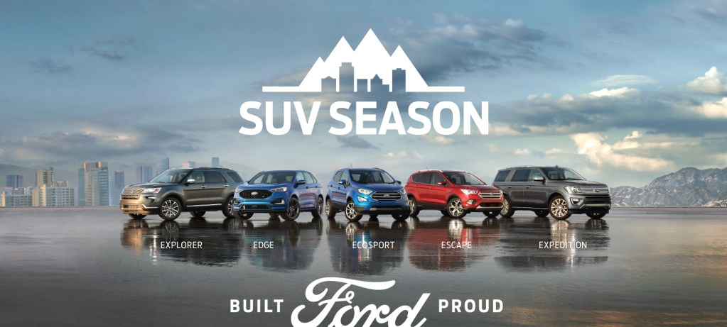SUV Season Is Here!