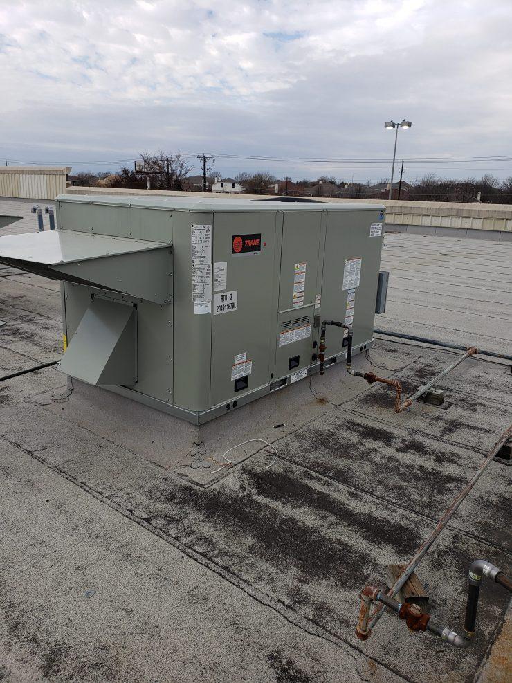 Trane High Efficient Rooftop Unit
