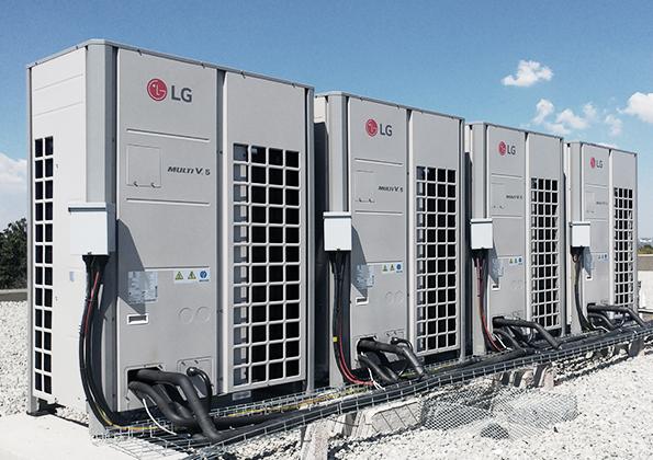 LG VRF Installation