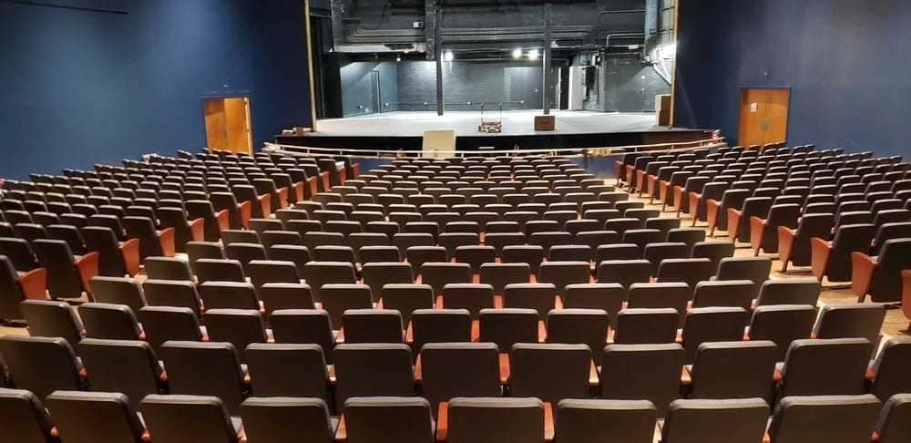 Fixed Seating Installation At Episcopal High School In Bellaire TX Quality Installers