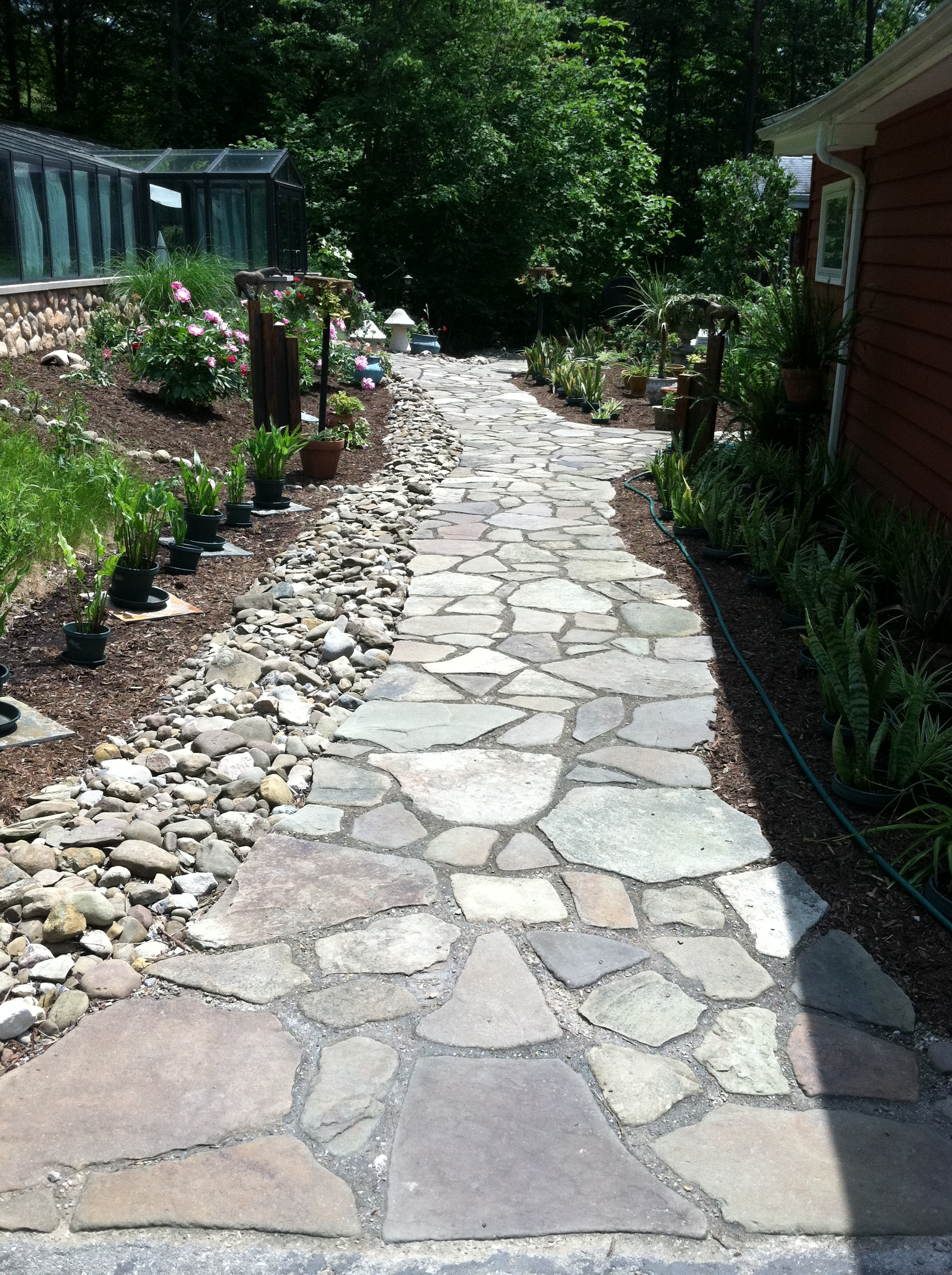 Custom Stone Path Buffalo NY