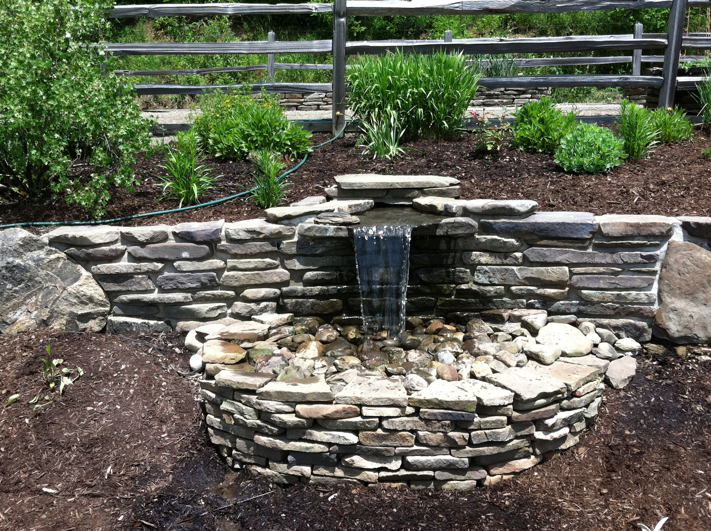 Custom Stone Fountain