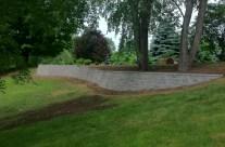 Custom Retaining Wall