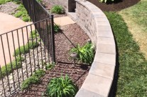 Custom Swimming Pool Retaining Wall