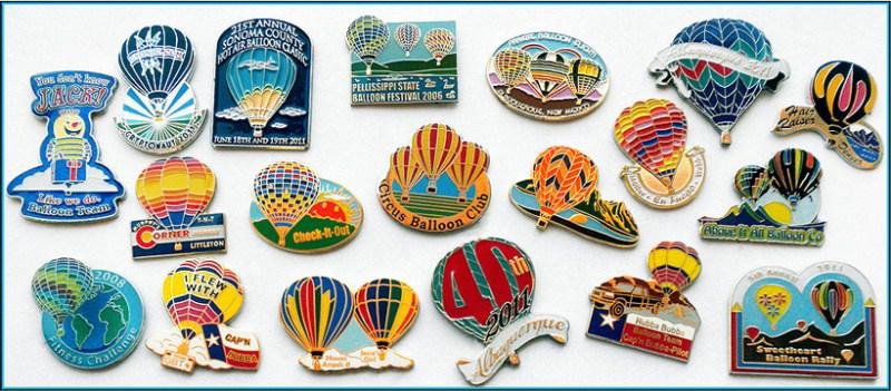 Hot Air Balloon Pins