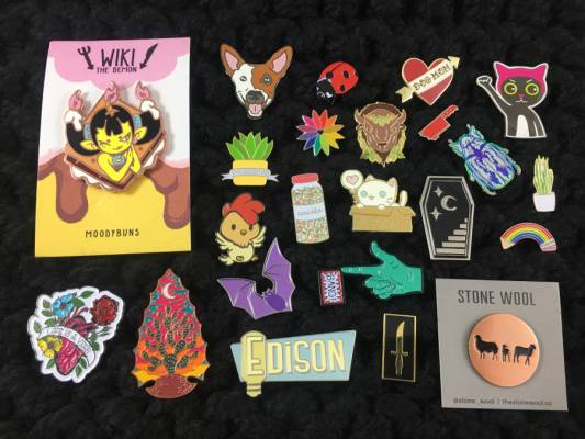 Pop Culture Lapel Pins