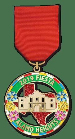 San Antonio Fiesta Medal