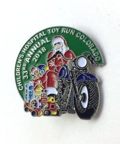 2018 Toy Run Pin