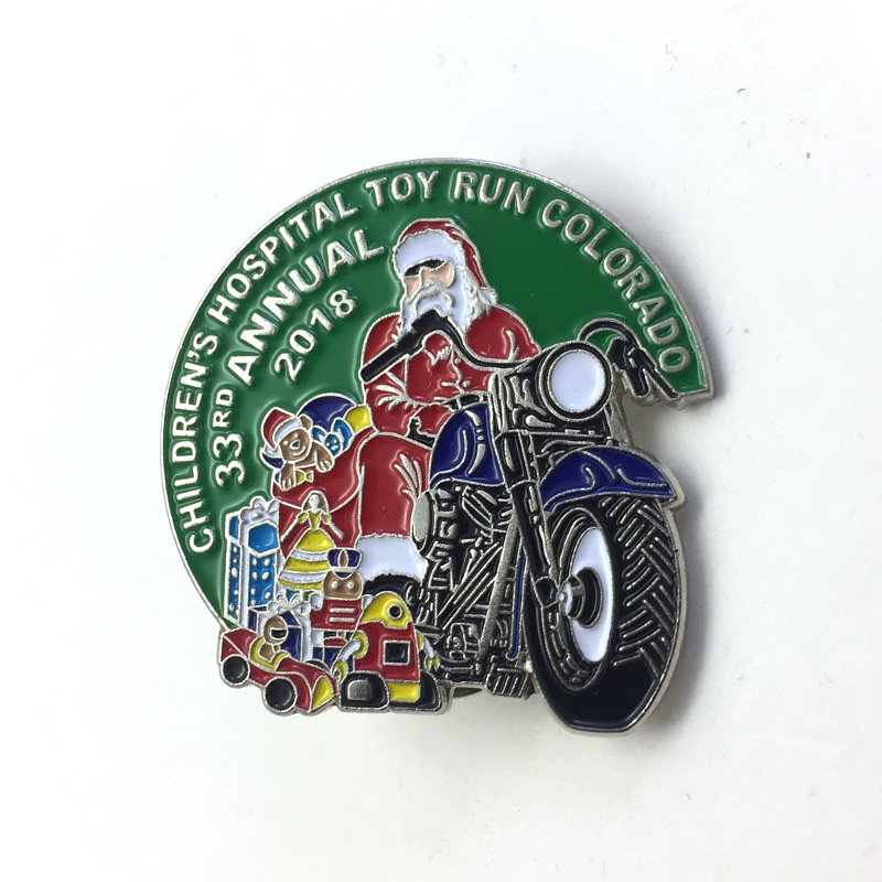 2018 Toy Run Pin