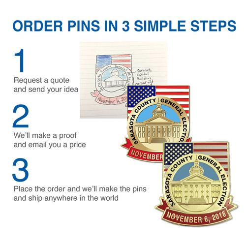 Order Custom Pins