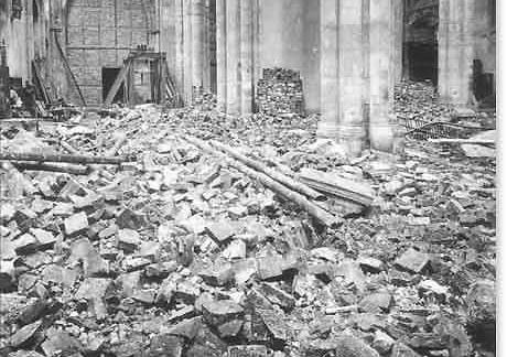 Sebalduskirche in Ruins photo image