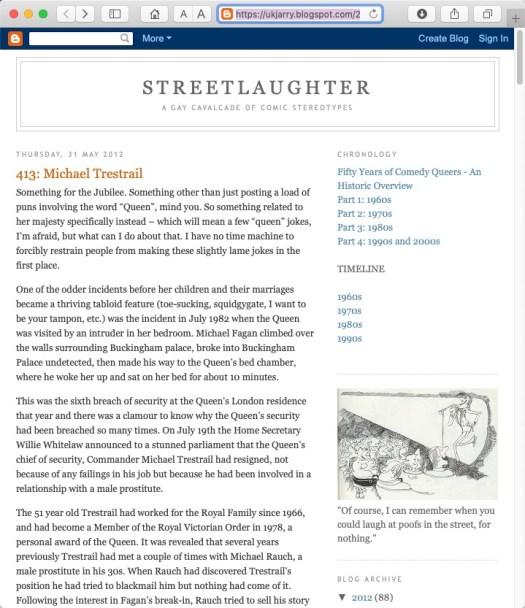 Streetlaughter screenshot