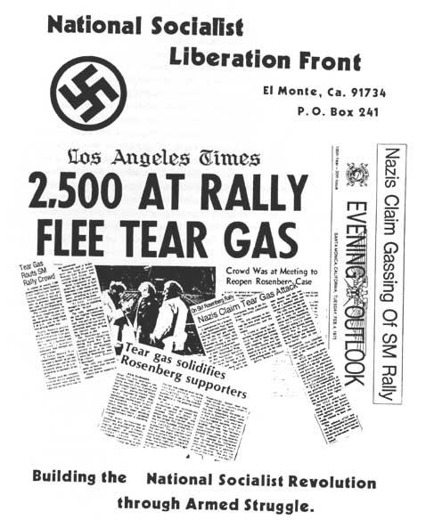 NSLF Rosenberg Leaflet