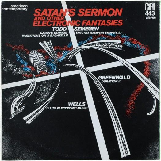 Satan's Sermon Cover