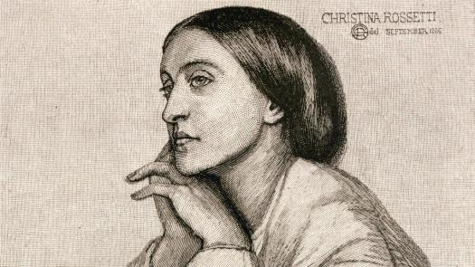 Christina Rossetti (detail)