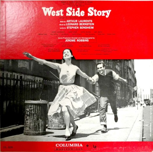 West Side Story LP cover