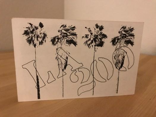LA 200 Postcard