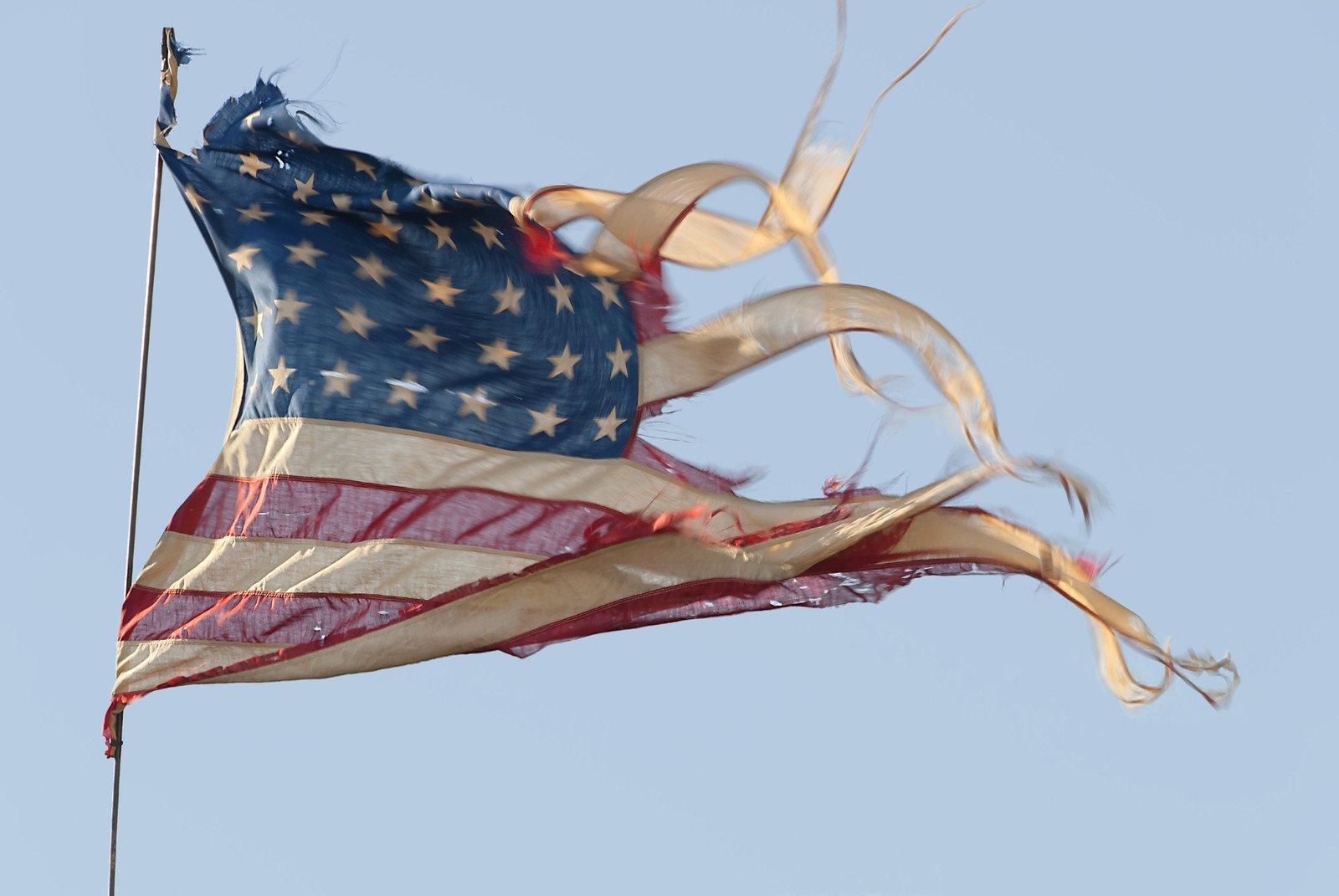 Tattered Flag photo
