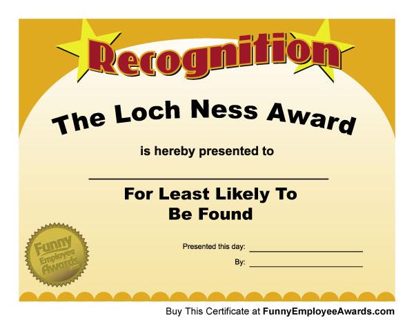 Recognition Ideas Appreciation Award Employee