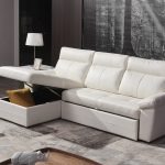 Real Leather Sectional Sofa With Pull Out Sofa Bed 2640 Quality West Sofa Imports