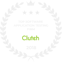 Top Software App Testing - Clutch 2018