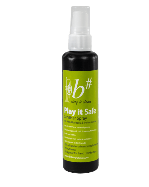 b# sanitiser spray