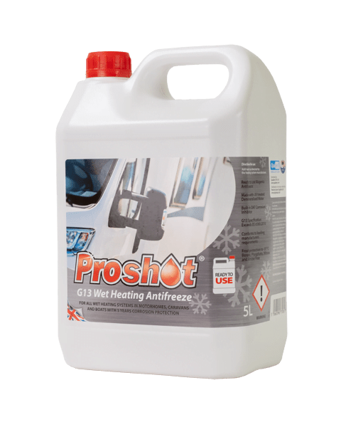 proshot red g13 wet heating antifreeze