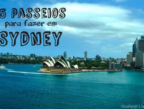 passeios em Sydney