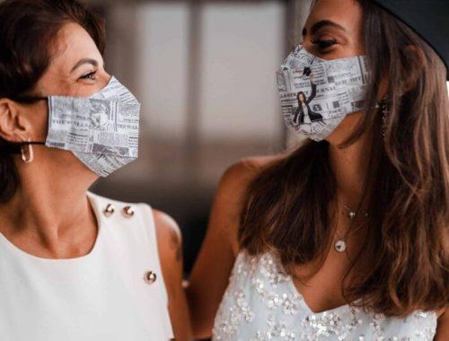 Máscaras para viajar de avião