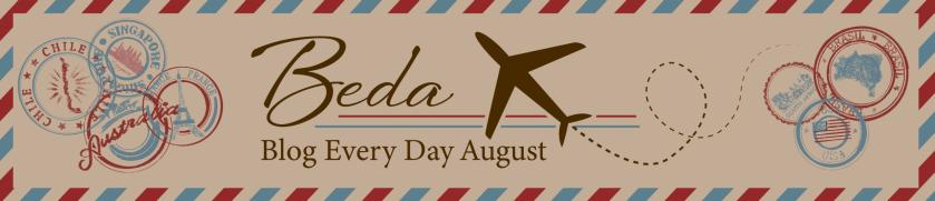 BEDA- Blog Everyday August