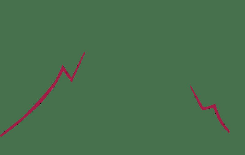 Montagne du logo Qualtitude