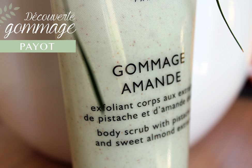 gommage amande payot packaging zoom