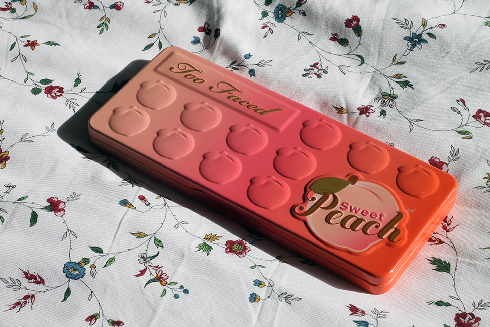 maquillage sweet peach too faced