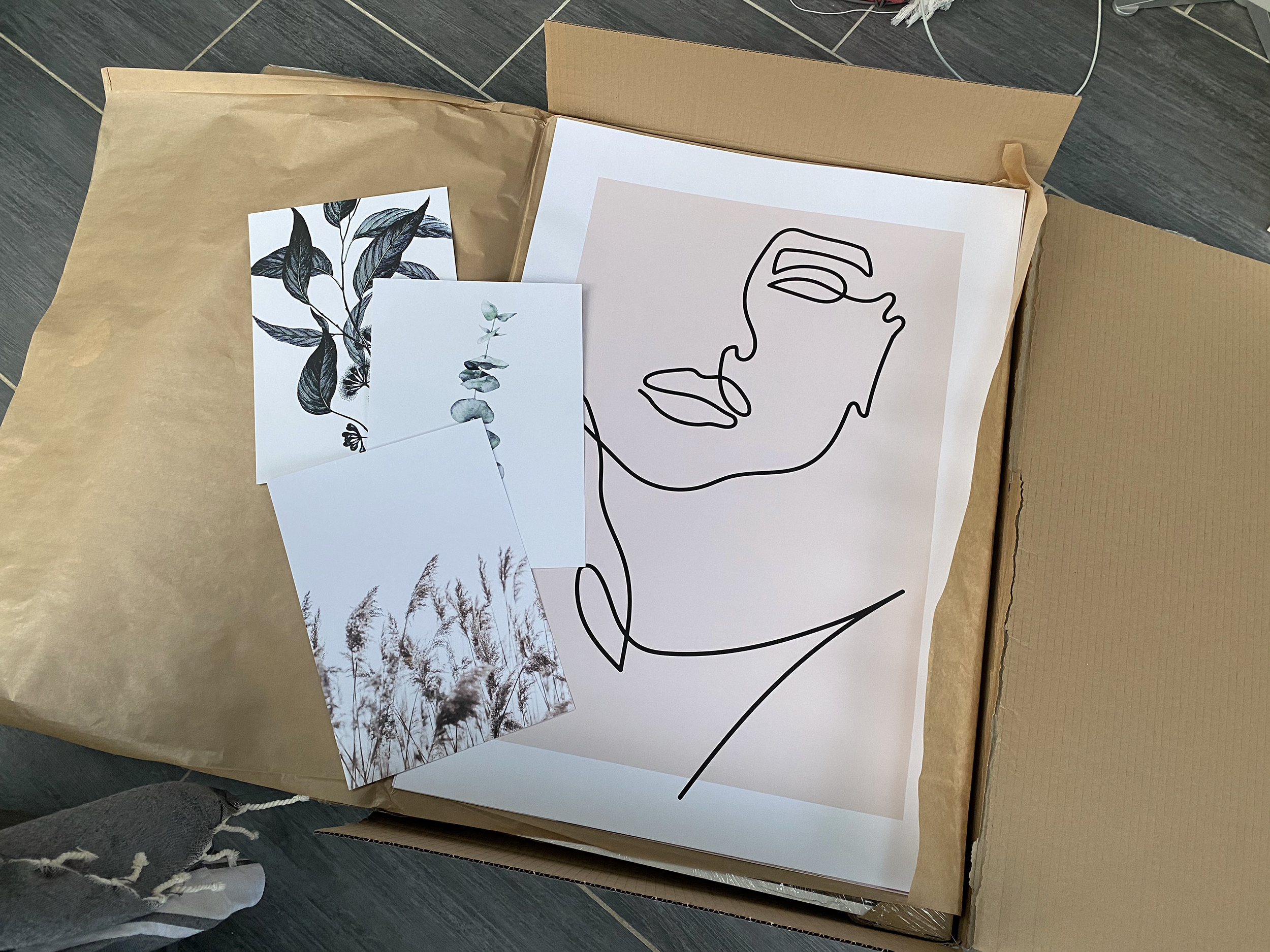 unboxing affiches dear sam