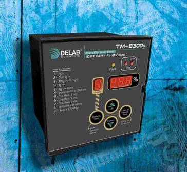 Relay bảo vệ chạm đất Delab EF TM-8300S (IDMT)