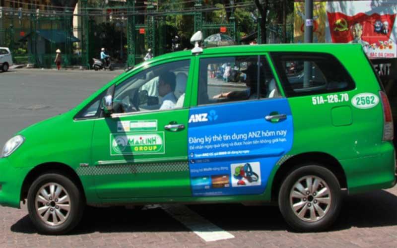 Dịch vụ quảng cáo trên taxi trên toàn quốc
