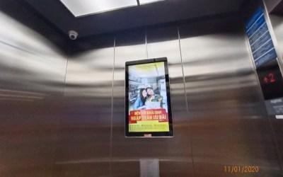 Báo giá quảng cáo thang máy Brandcom