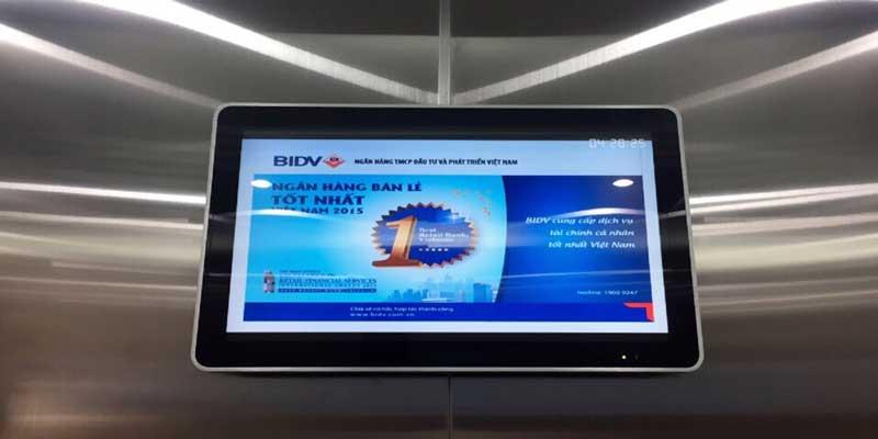 Báo giá quảng cáo LCD thang máy tại TP. HCM