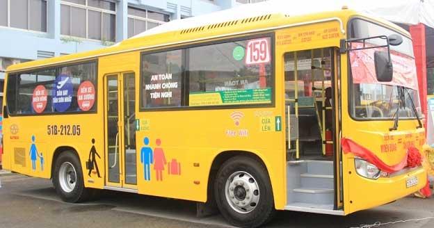 Báo giá quảng cáo trên xe Bus – TP. HCM