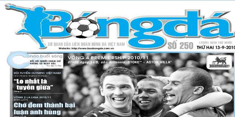 Quảng cáo trên báo bóng đá – Dịch vụ quảng cáo trên báo giấy