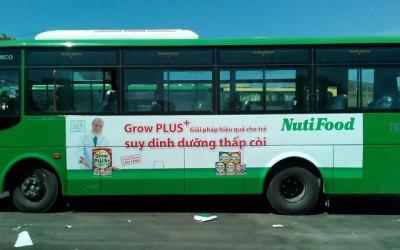 Bảng giá quảng cáo trên xe buýt Mai Linh tại Quảng Ngãi