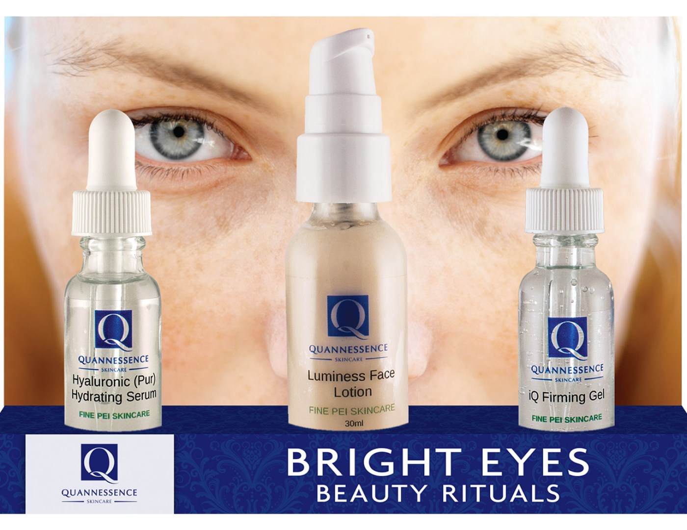 Quannessence Bright Eyes Beauty Rituals (3 Products)