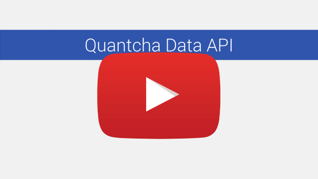 Quantcha Data API Series on YouTube