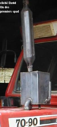 Sistema Gilles-Pantone aplicado a un tractor.