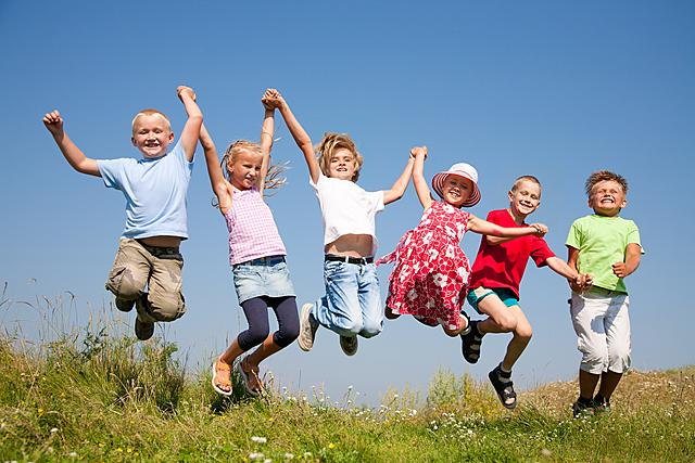 bambini salto