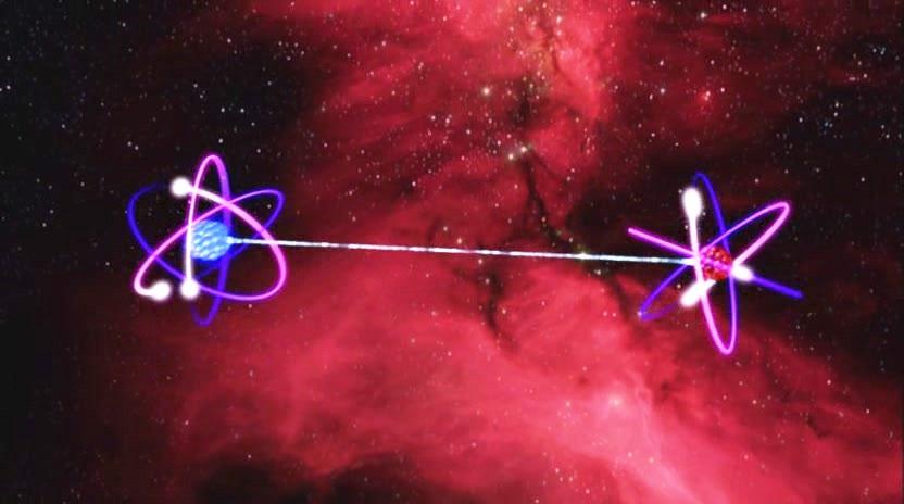 Risultati immagini per entanglement quantistico